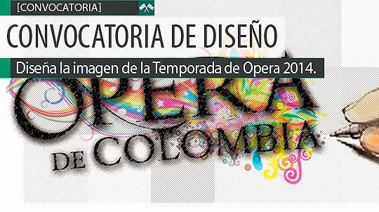 Diseña la imagen de la temporada de Ópera 2014