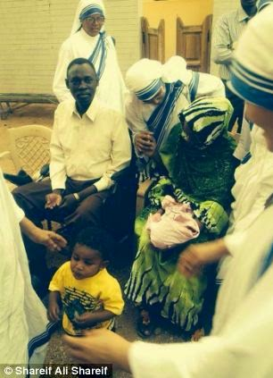 First picture of Meriam Ibrahim as a free woman2