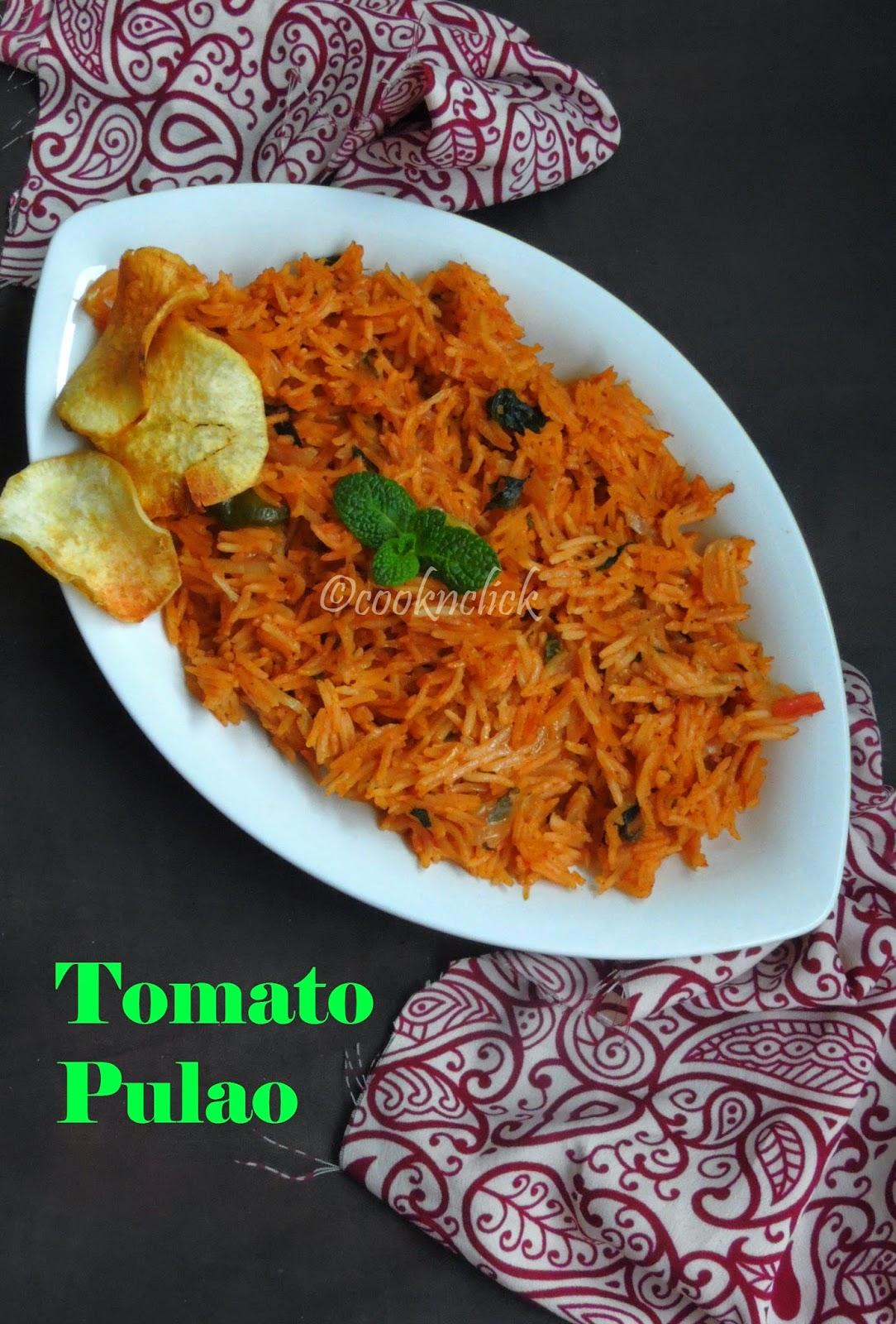 Tomato Pulav