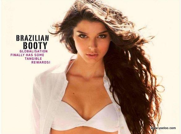 Brazilian Model turn Bollywood actress Giselli Monteiro feature in Maxim ...