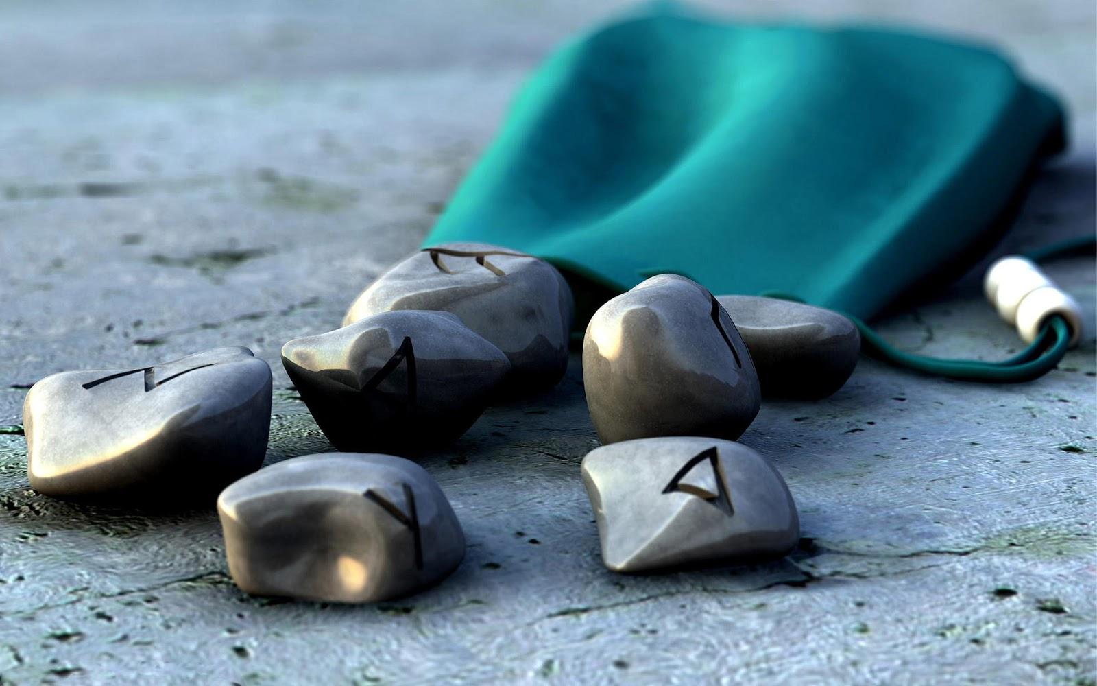 Stones with Symbols
