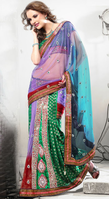 Fancy-Lehenga-Saree