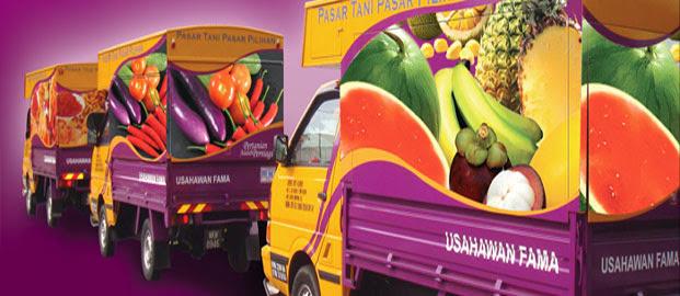 Karavan Pasar Tani merupakan satu konsep baru yang diperkenalkan oleh FAMA bagi membantu peserta Pasar Tani memasarkan hasil pertanian secara bergerak dan telah memulakan operasi pada Disember 2008.