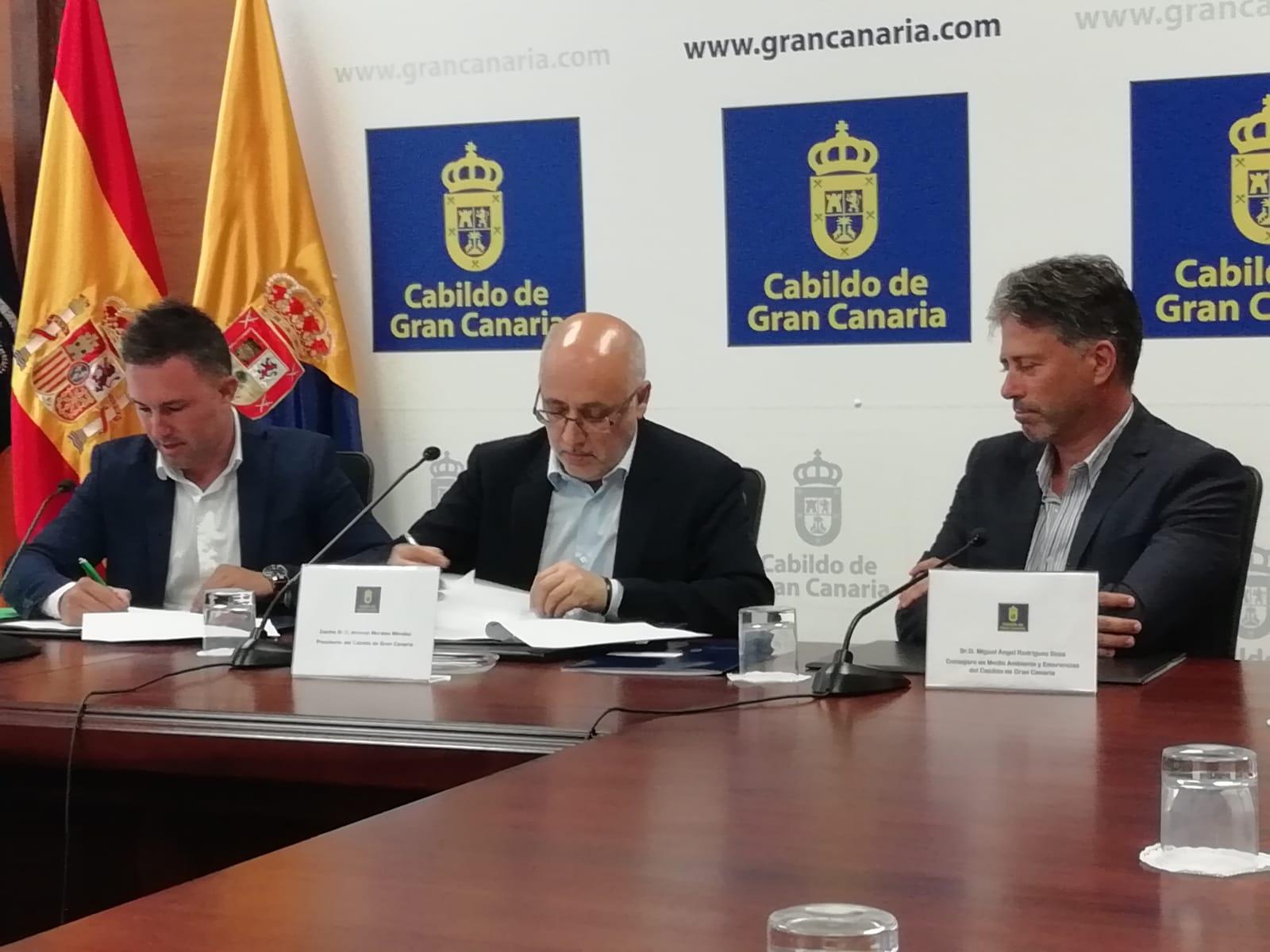Covenio Cabildo de Gran Canaria