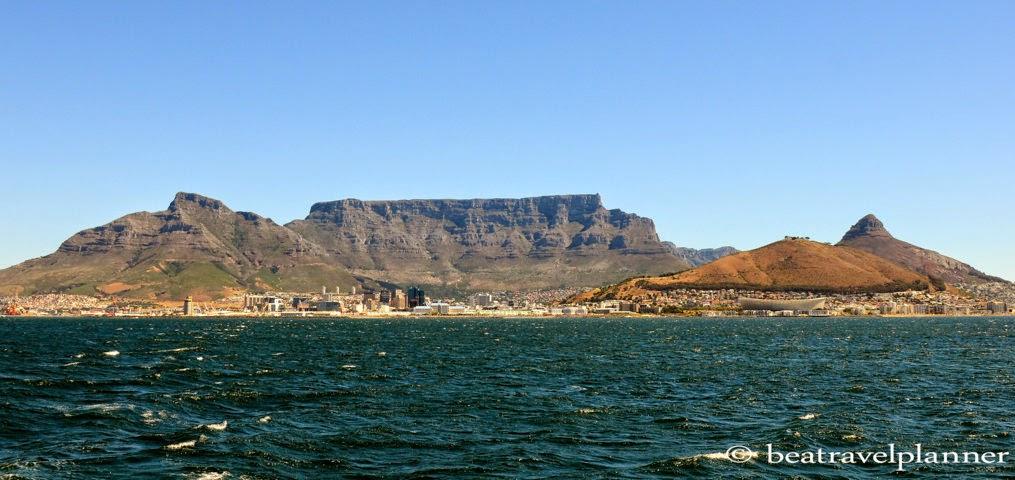 verso Robben island
