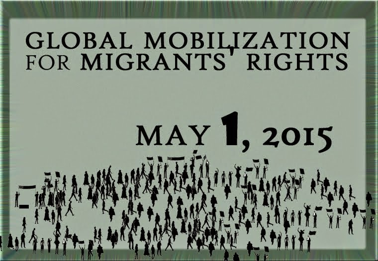 May 1st: Global mobilization for the rights of migrants