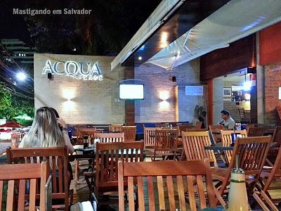 Acqua Café: Ambiente externo da unidade do Itaigara