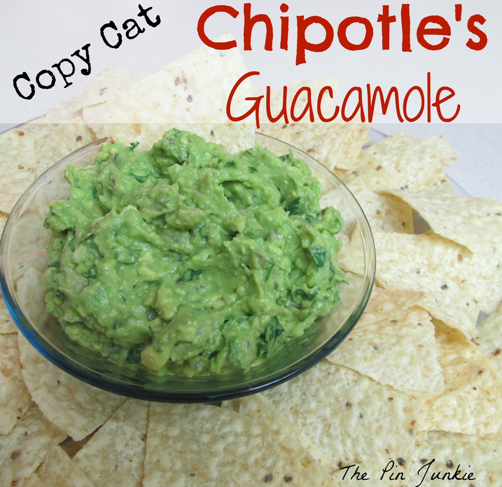 chipotle's guacamole recipe