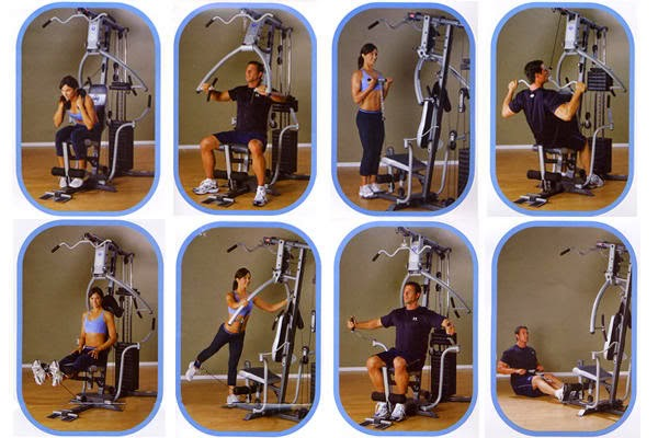 Marcy MP2106 Platinum Home Multi Gym Exercises