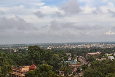 View from the top of Khandagiri hills