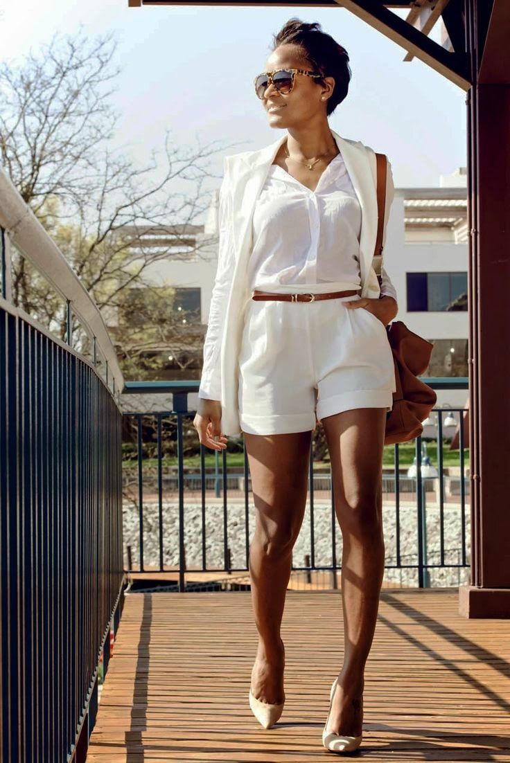 Five Ways to Wear Shorts Like a Boss This Summer | Faces of Black ...