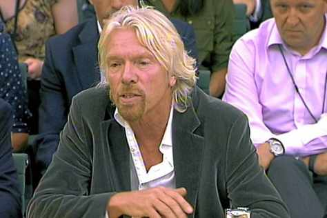 Richard Branson's .