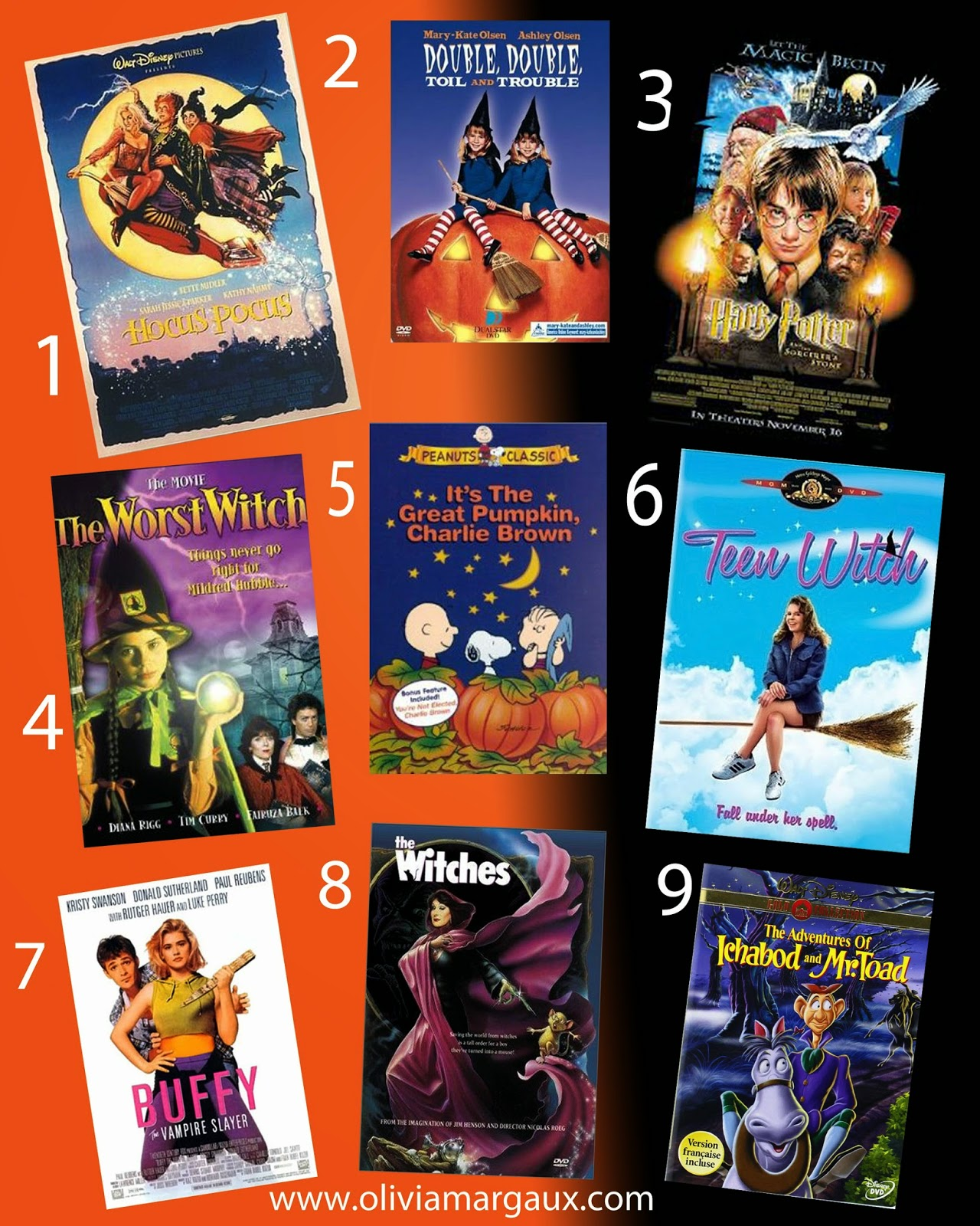 some candy corn and pour yourself a glass of bubbly champagne pairs well with candy corn then pick a movie from my must watch halloween movie lineup
