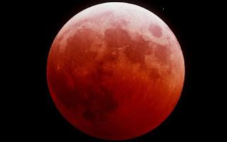 Superluna de Sangre. Luna de Sangre