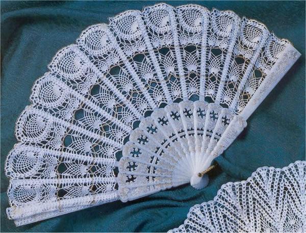 Patron crochet abanico for Ventagli uncinetto schemi