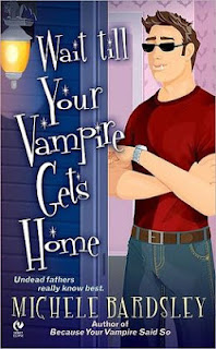 Wait till Your Vampire Gets Home is the fourth book in the Broken Heart paranormal series by Michele Bardsley.