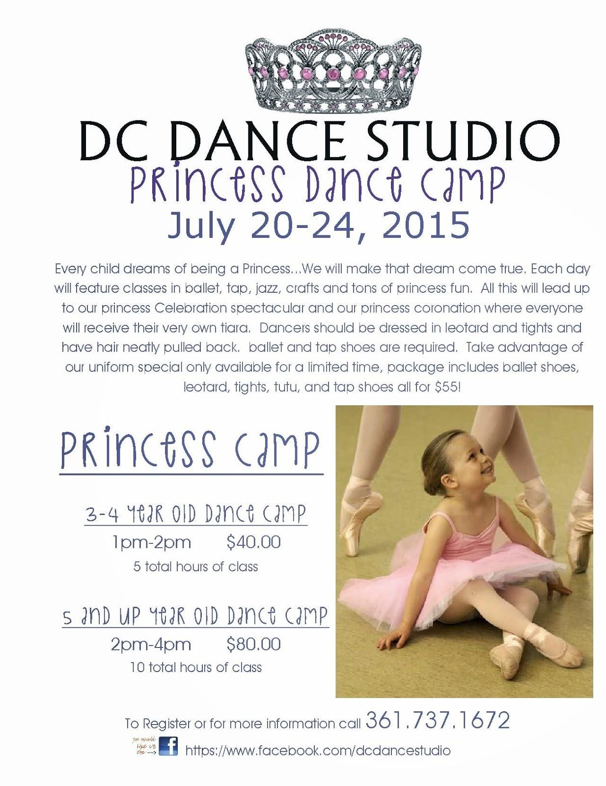 Corpus christi area summer camps 2015 corpus christi fun for kids dc dance princess dance camp xflitez Gallery