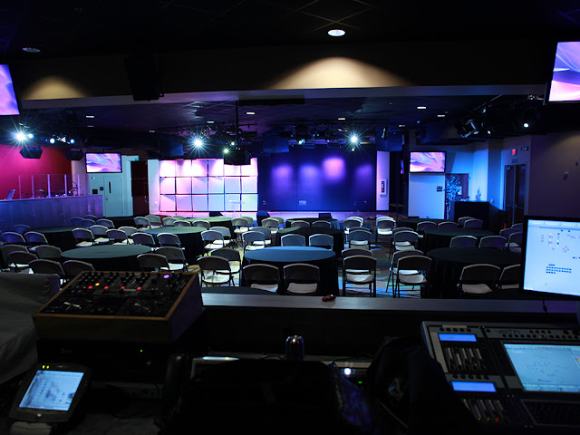 house of worship audio lighting projection