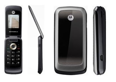 Motorola WX265 Basic Flip Cell Phone Without Camera But GPRS.