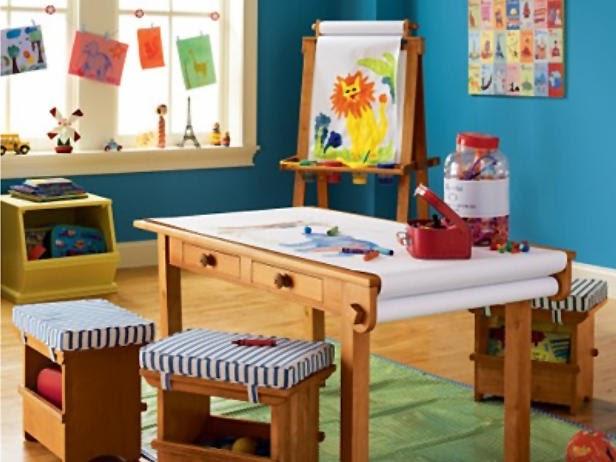 Dormitorio tem tico sala de arte para ni os deco - Dormitorio infantil original ...