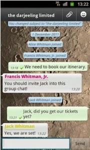 grupos en WhatsApp