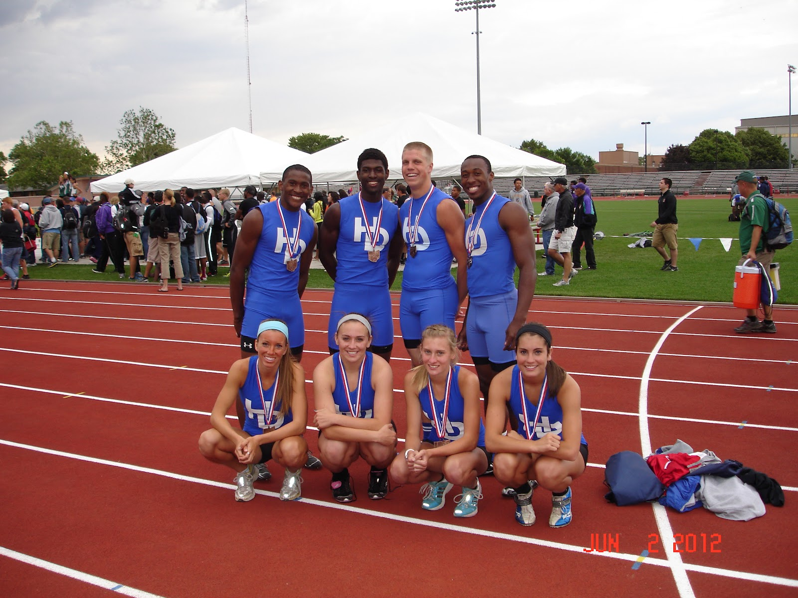 kent state track and field high school meet results