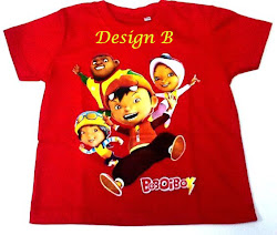 Klik untuk dapat kan t.shirt kanak kanak