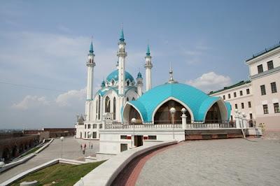 Masjid Kul-Sharif, Rusia, sewa villa di batu