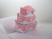 3 Tier Square Pop Up Cake SVG File