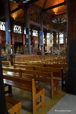 Honfleur - église en bois