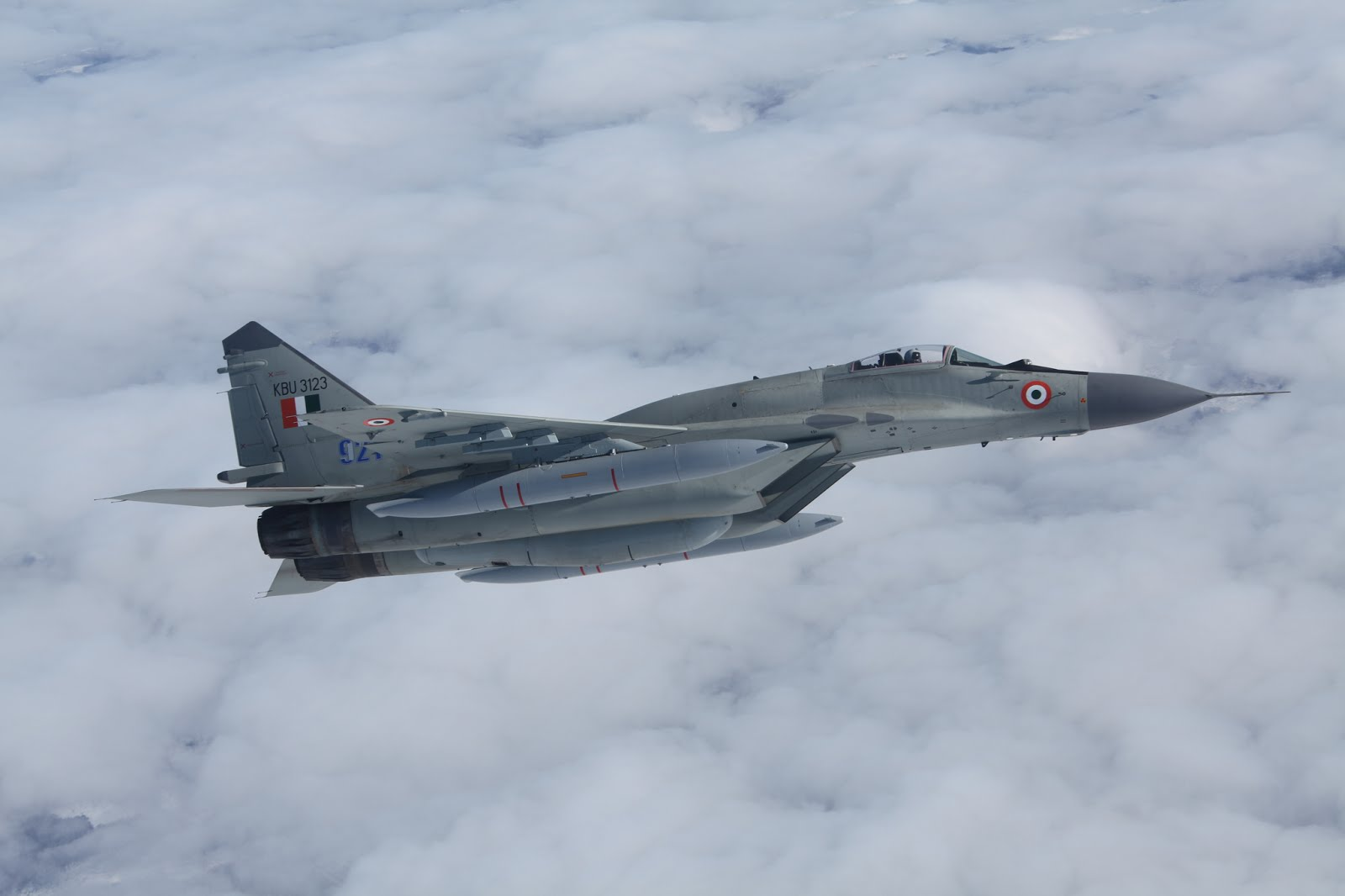 Indian Air Force's First Upgraded MiG-29s start arriving - Asian ...