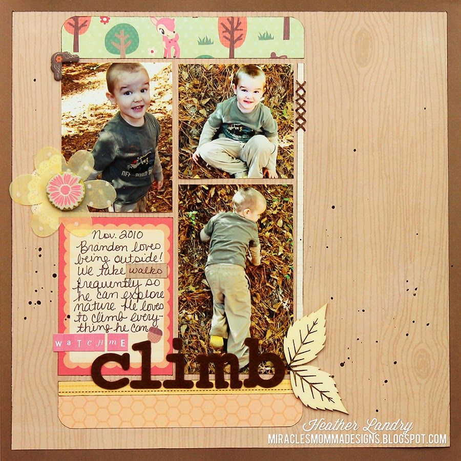 Nature_Hill_Climbing_Toddler_Layout_Scrapbook