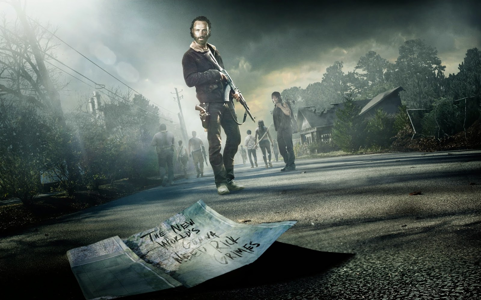 The Walking Dead Season 5 Wallpaper HD