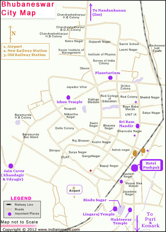 Bhubaneswar India  city images : About Bhubaneswar City | Bhubaneswar City Map | India in Maps.