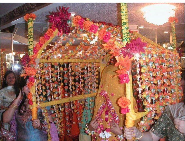 Mehndi Bride Entrance Ideas : Doli the brides fairytale entrance dulha dulhan