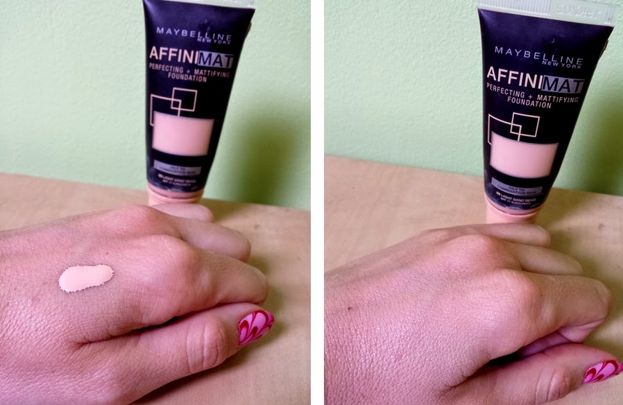 MAYBELLINE AffiniMat Perfecting + Mattifying Foundation