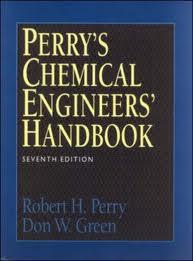 Perry Chemical Engineering Handbook Pdf