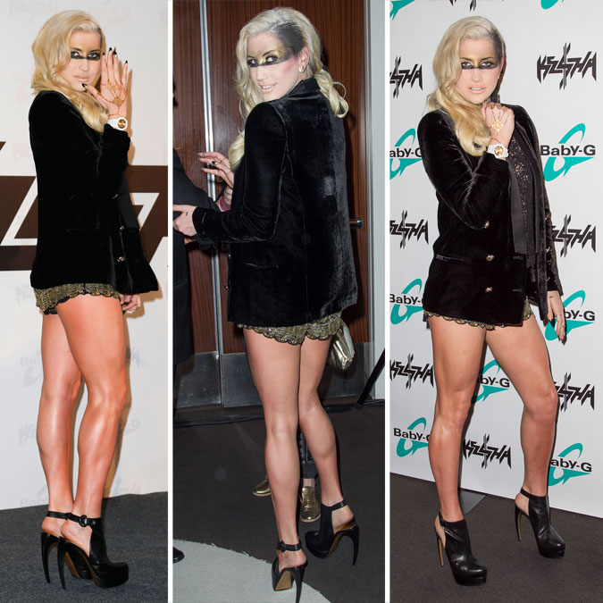 Kesha: new 'Baby G' watch line launch em Beverly Hills - 29 de Outubro de 2012
