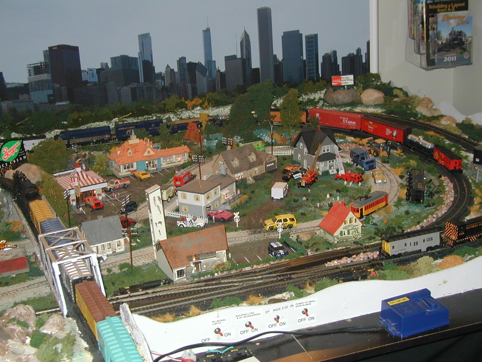 Hobby train supplies