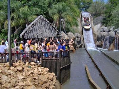 Isla Mágica atracciones