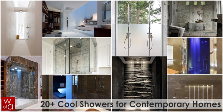Cool Contemporary Showers for Homes 20