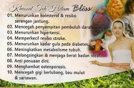 khasiat dan manfaat blesstea