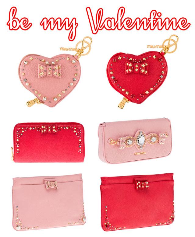 Miu Miu Heart Wallet