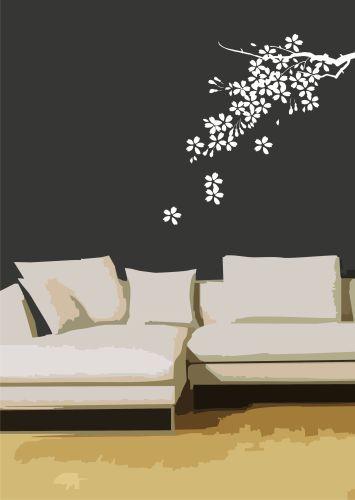 Como colocar vinilos decorativos decorando revista de decoraci n del hogar y - Vinilos low cost ...