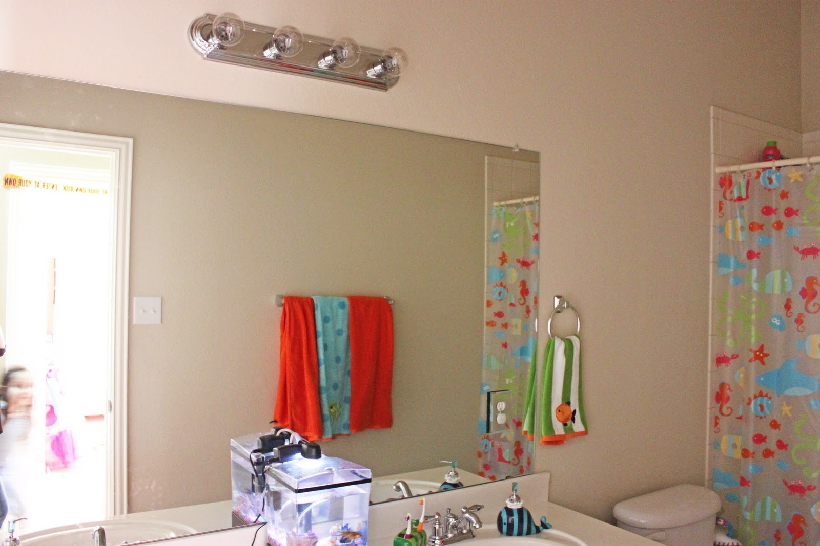 Diy Easy Framed Mirrors: A Little Of This, A Little Of That: $20 DIY Mirror Frame