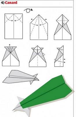 lihat gambar di bawah cara cara melipat pesawat dari kertas