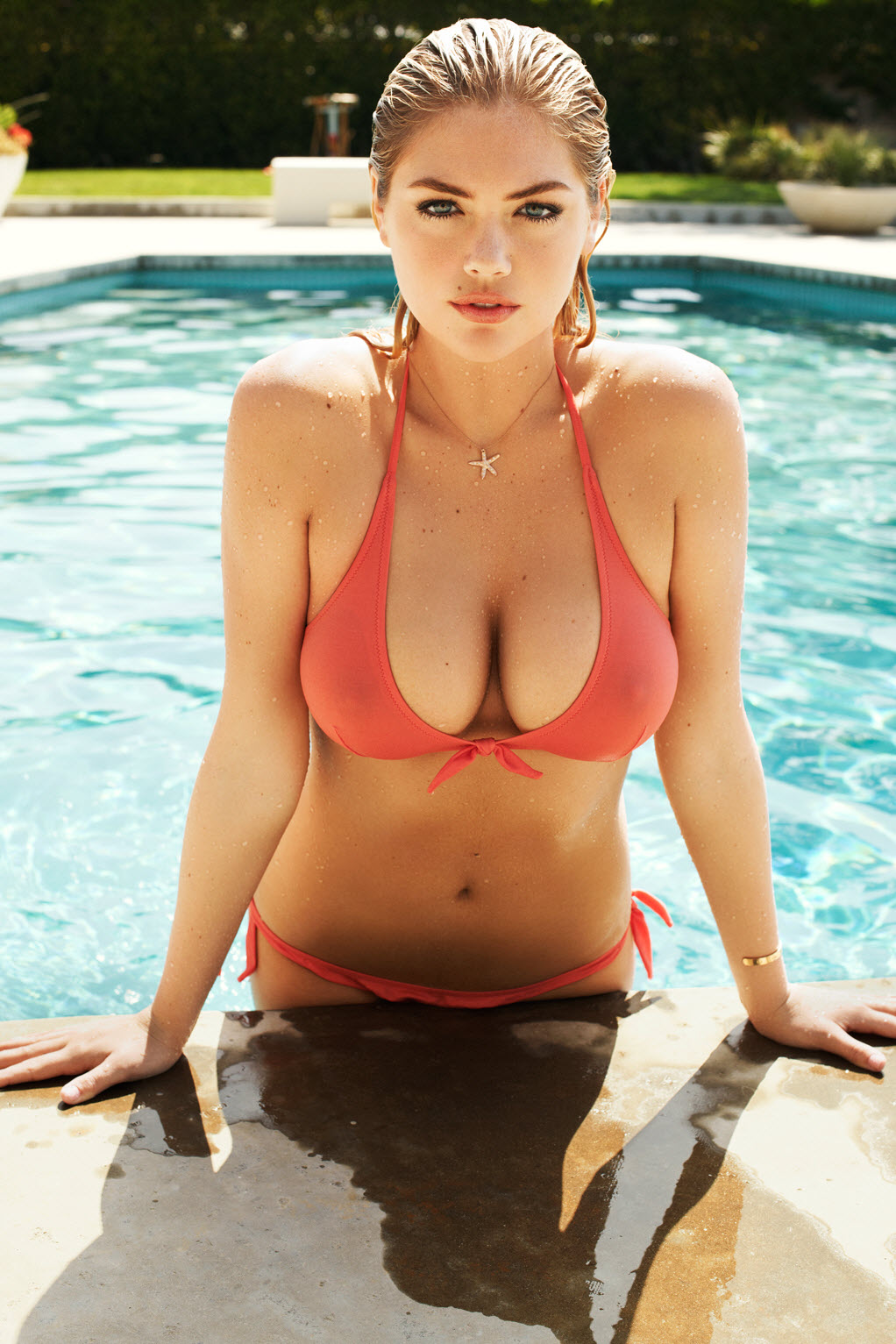 Kate Upton in Wet T-Shirt and Bikini Terry Richardson ...