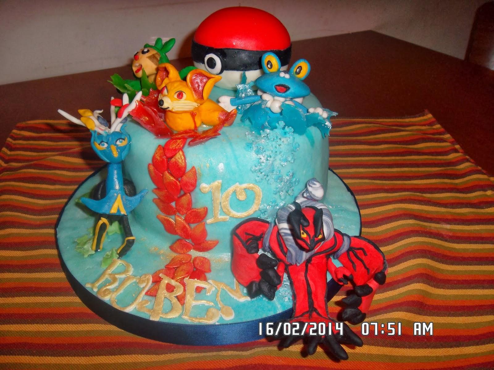 la fatina delle torte torta pokemon per i 10 anni di ruben. Black Bedroom Furniture Sets. Home Design Ideas