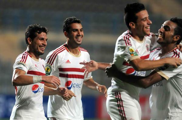 ملخص مباراة المصري البورسعيدي vs الزمالك الدوري المصري  [HD][20/1/2016]