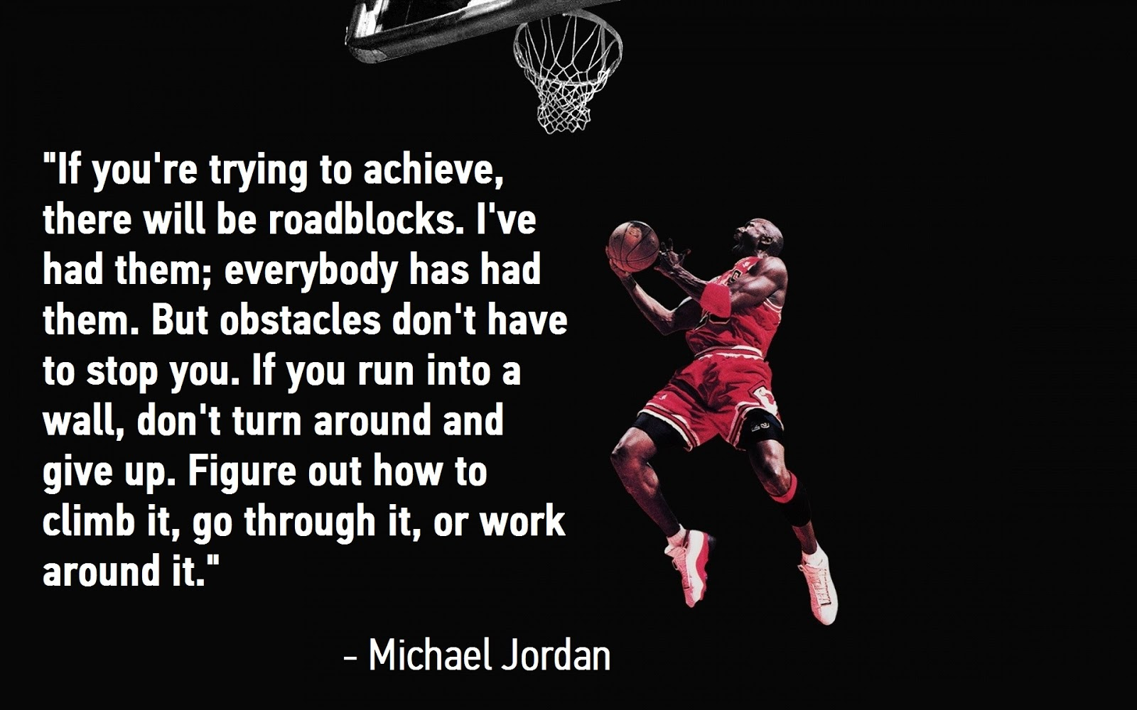 adversity basketball and michael jordan quote